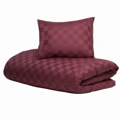 Orginal satin check Red plum